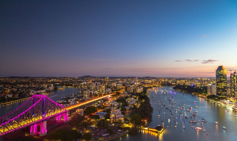 Australian Adventure in Brisbane Aerial